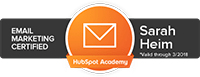 Hubspot Academy E-Mail Marketing Certified