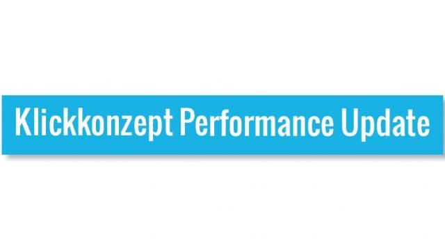 Klickkonzept Performance Update