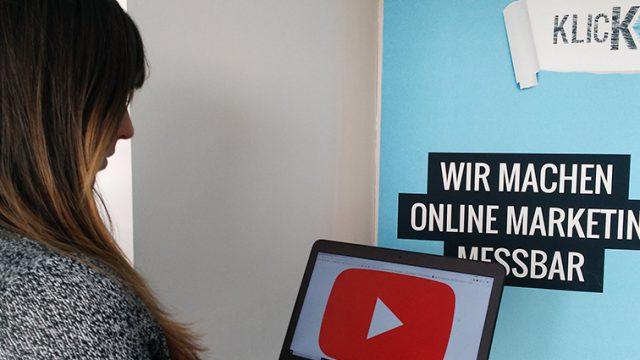 Klickkonzept ist YouTube Certified Agency