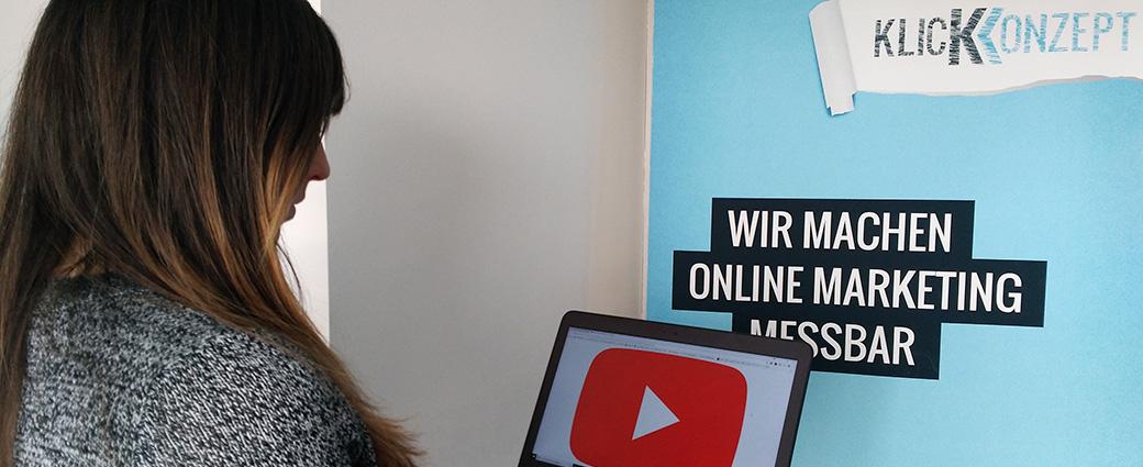 Klickkonzept ist Certified YouTube Agency