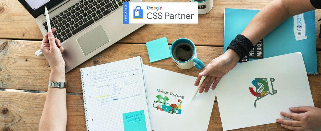 Klickkonzept ist Google CSS-Partner!