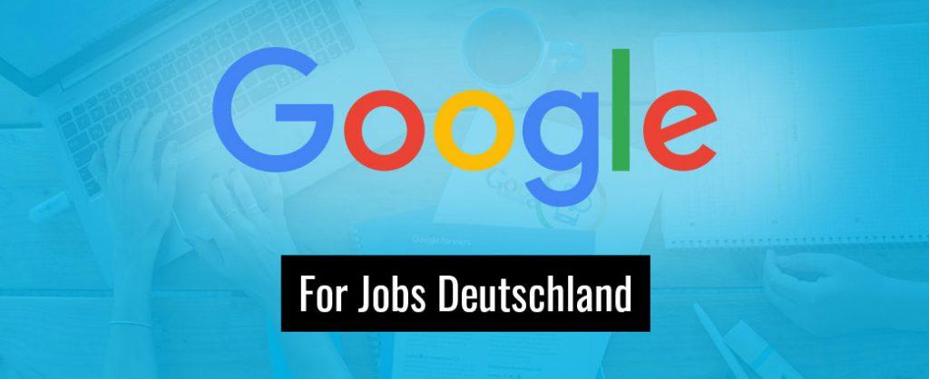Google for Jobs ist endlich auch in Deutschland gelaunched