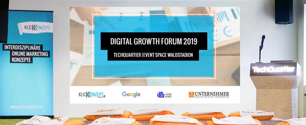 Geschäftserfolg durch Automatisierung: Digital Growth Forum 2019 Recap