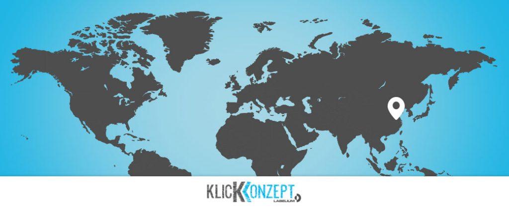 Wir sind weltweit angesiedelt, von nun an auch mit einem Labelium-Büro in China.
