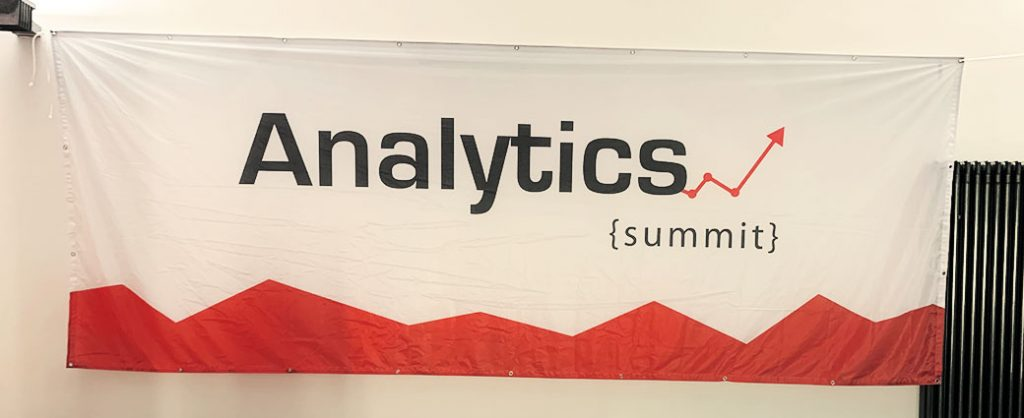 Klickkonzept bei dem Analytics Summit 2019.