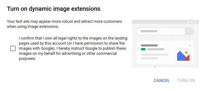 Einrichtung der Google Bilderweiterung