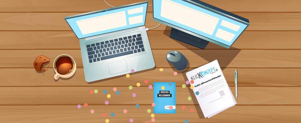 Berufseinstieg trotz Pandemie: Unsere Erfahrung bei Klickkonzept