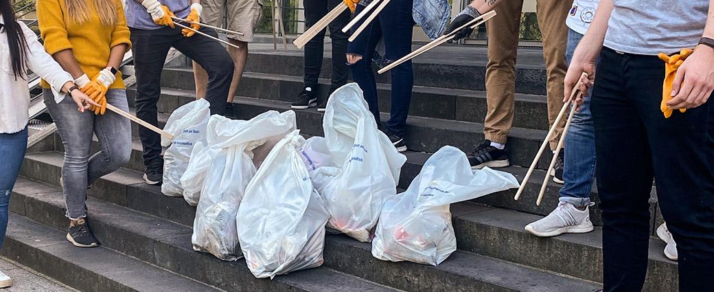 Der Frankfurt Cleanup 2020 – Klickkonzept räumt auf