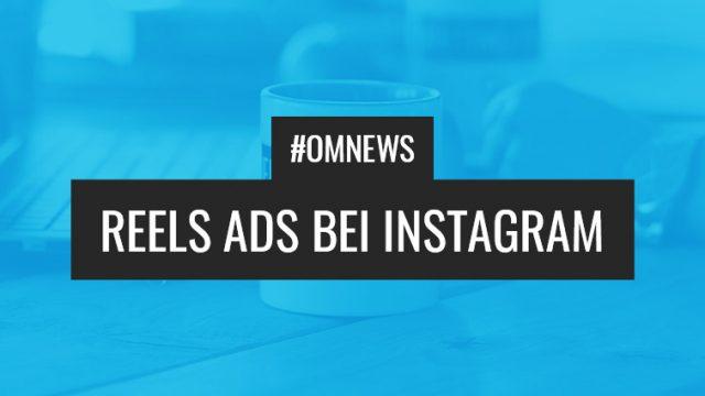 Reels Ads bei Instagram