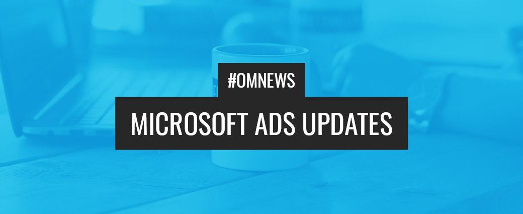 NEW: Neuheiten aus dem Hause Microsoft Ads